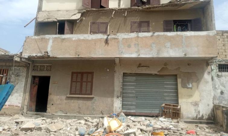 ROCADE FANN BEL-AIR – L'effondrement d'un bâtiment fait 3 morts et plusieurs blessés